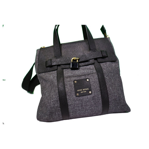 Henri Bendel Handbag - Grey & Black