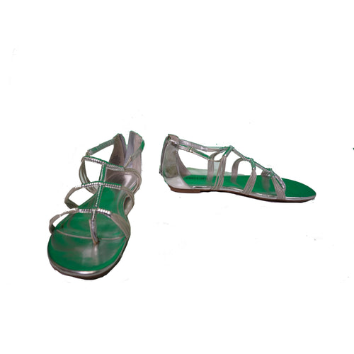 Jennifer Lopez Sandals - Silver