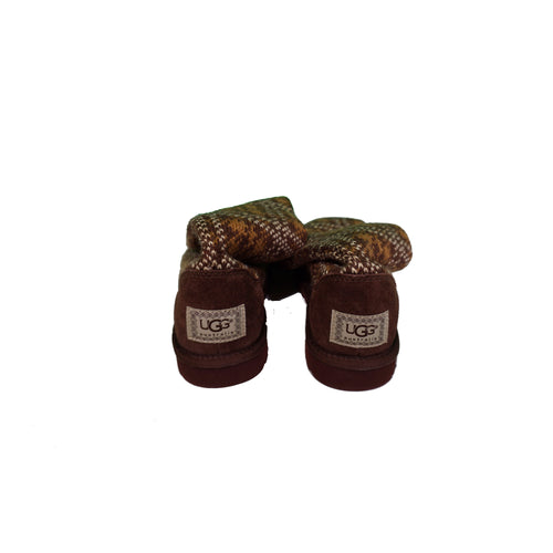 UGG Boots - Brown Knit