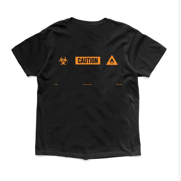 Caution BLK