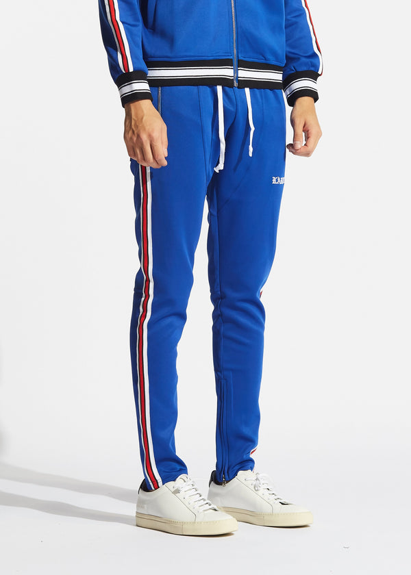 Rogers Track Pants Royal Blue
