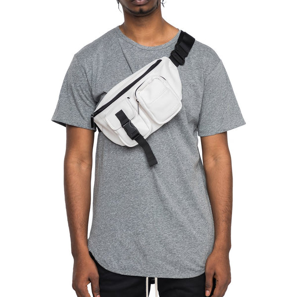 Tactical Cross Body Bag White
