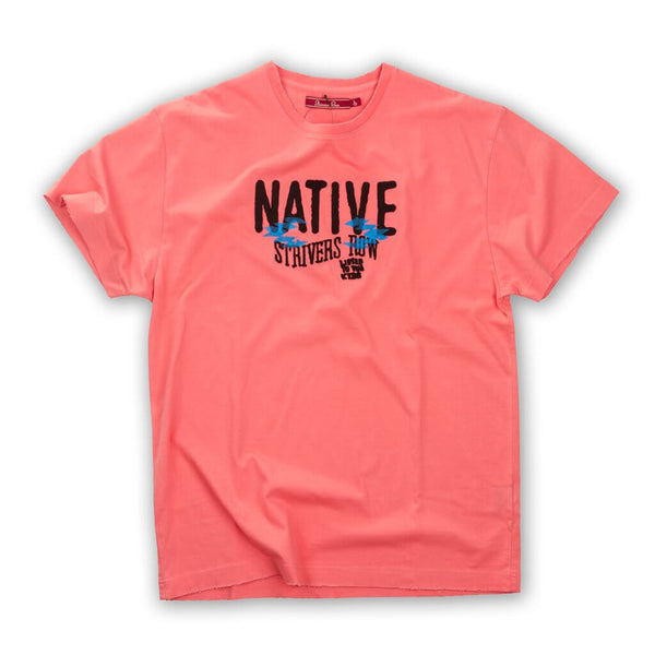 NATIVE SS TEE TEA ROSE