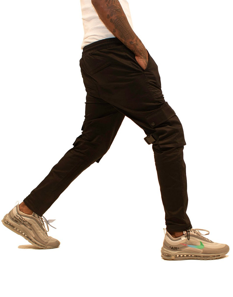 BLESSED CARGO PANTS BLACK