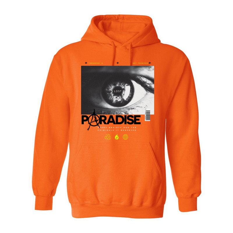 Anarchy Hoodie Orange