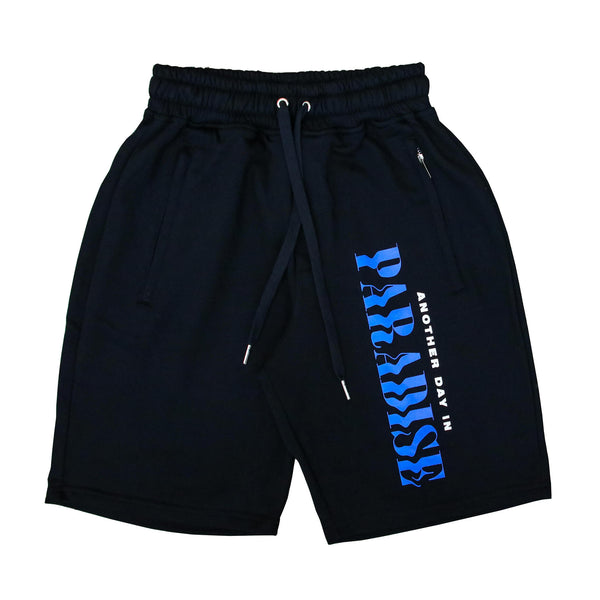ANOTHER DAY SHORTS BLK/ROYAL