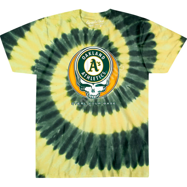OAKLAND ATHLETICS STEAL YOUR BASE TIE-DYE