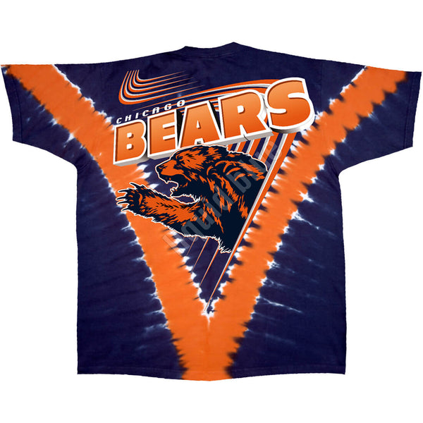 CHICAGO BEARS V TIE-DYE