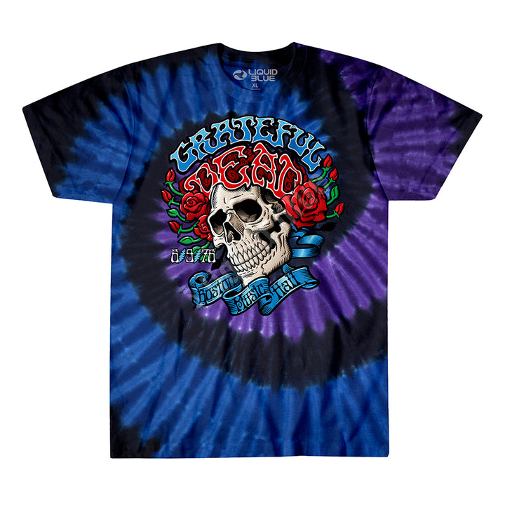 BOSTON MUSIC HALL TIE-DYE TEE