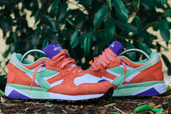 DIADORA N9002 - FRESH SALMON/WHITE