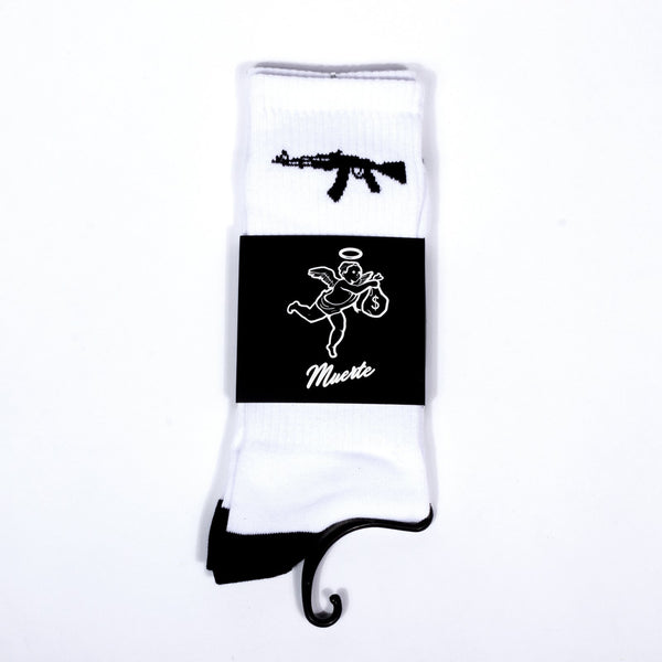 Ak Socks (White)
