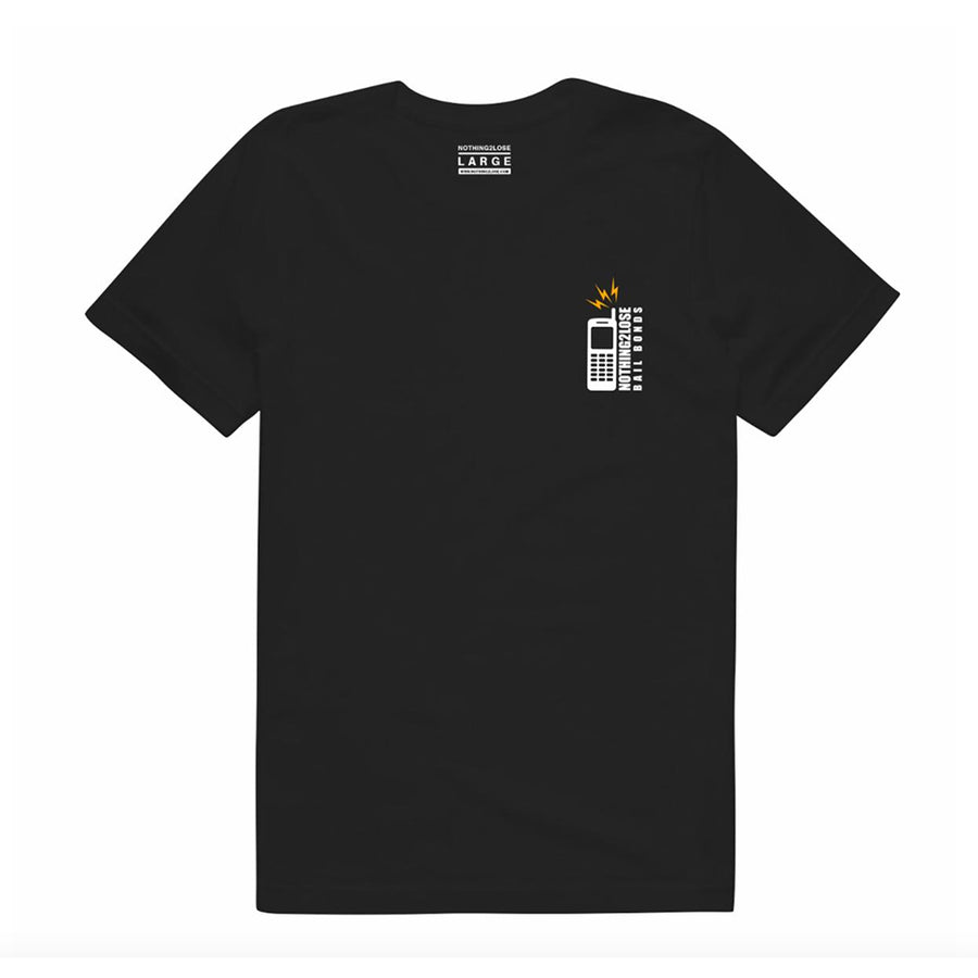 Bail Out Tee Black