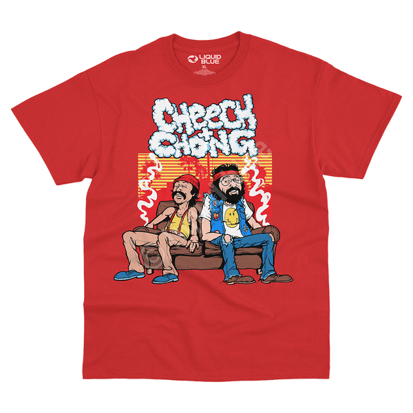 COUCH LOCKED RED TEE