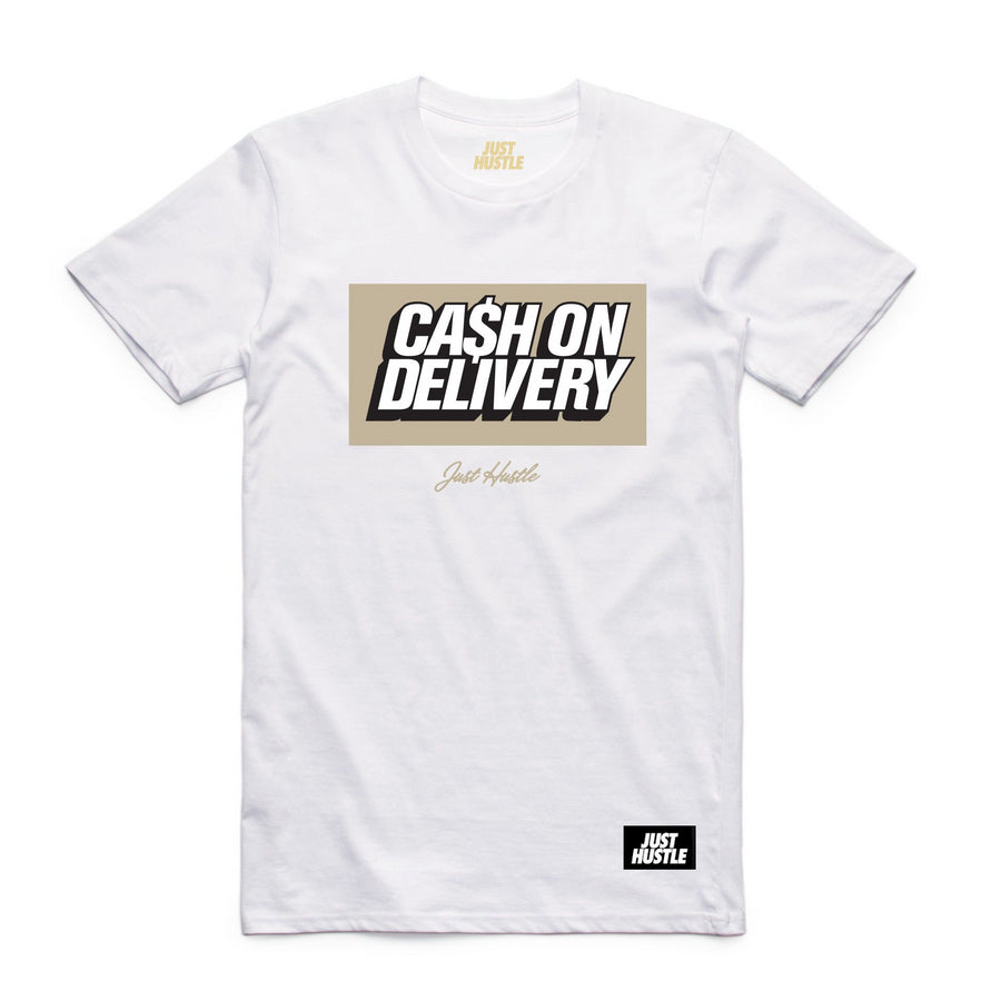 Cash On Delivery Tee White