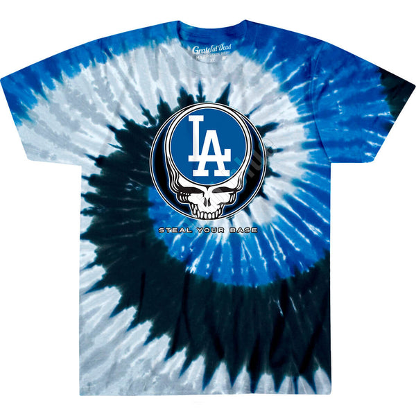 LOS ANGELES DODGERS STEAL YOUR BASE TIE-DYE