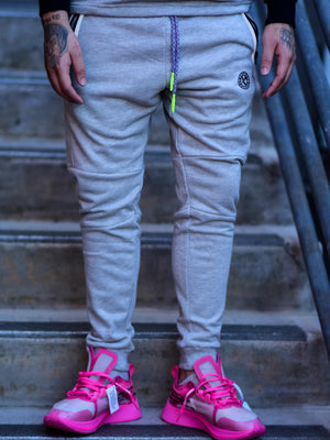 SURVIVAL TECH PANTS GREY/PINK