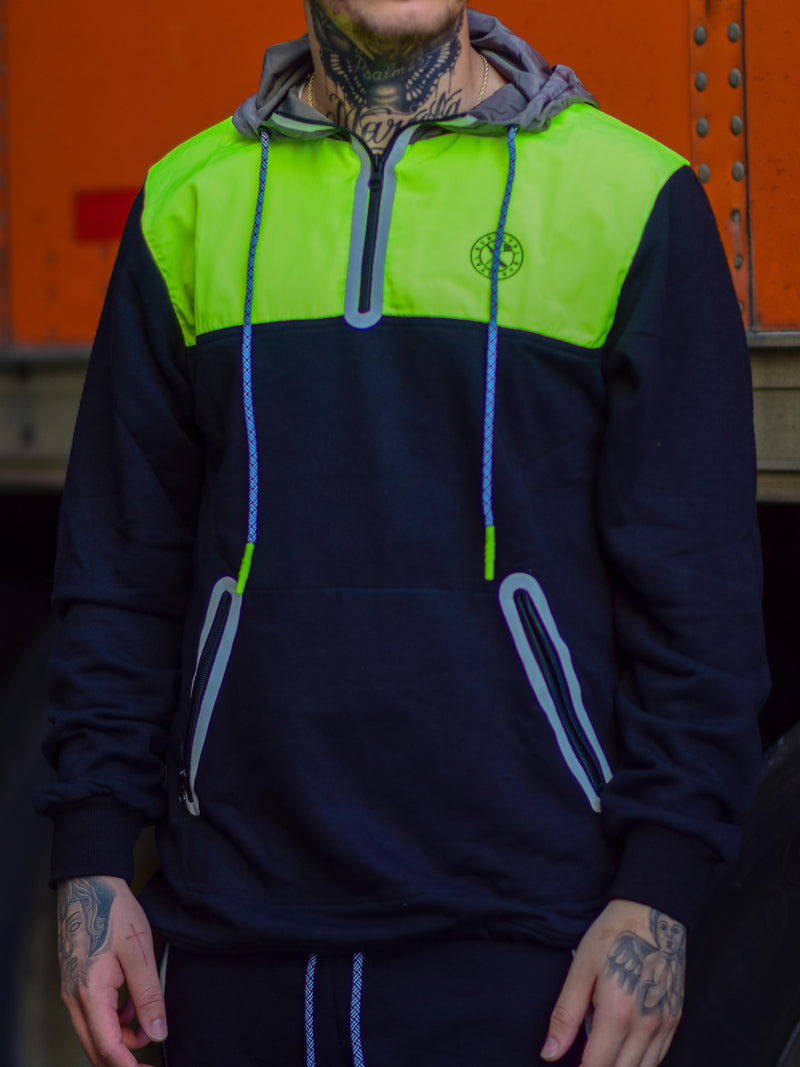 SURVIVAL TECH TOP BLACK/NEON