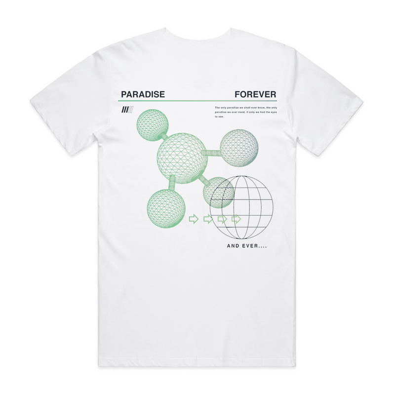 FOREVER PARADISE TEE WHT