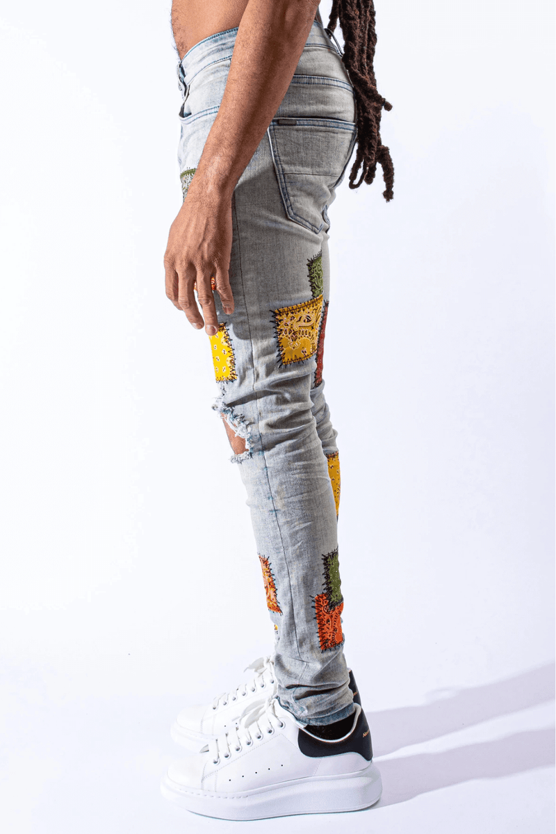 Free World Jeans Survival Clothing Footwear