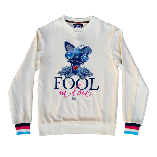 FOOL CREWNECK OFF WHITE