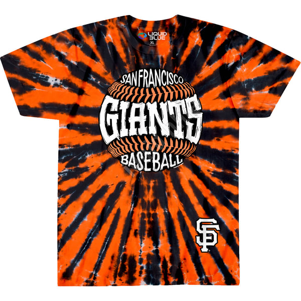 SAN FRANCISCO GIANTS BURST TIE-DYE