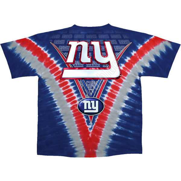NEW YORK GIANTS V TIE-DYE