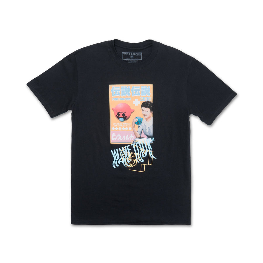 Ghost Zine Tee Black