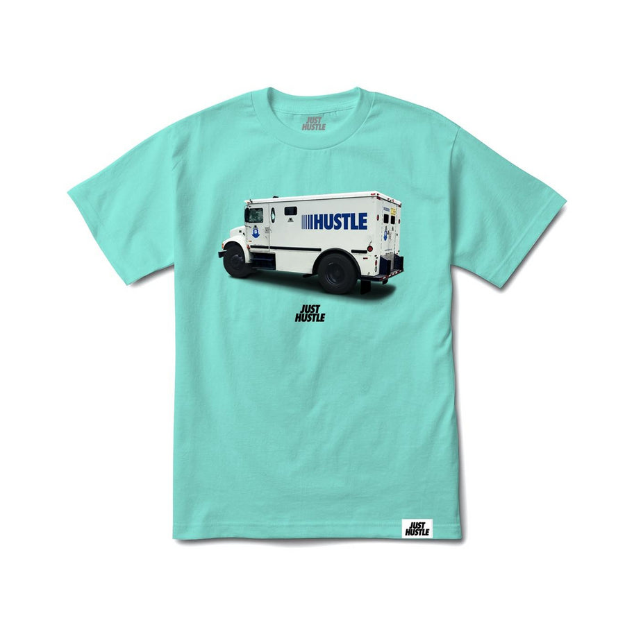 Hustle Brinks Tee Aqua