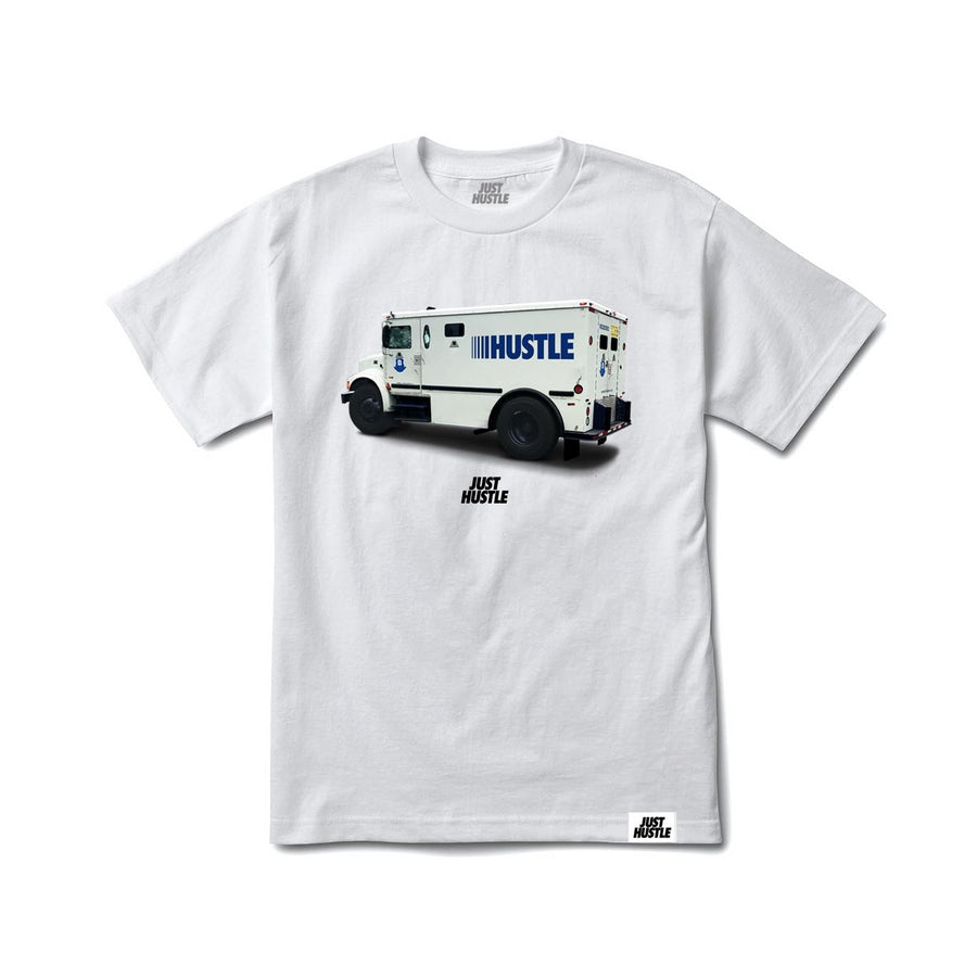 Hustle Brinks Tee White