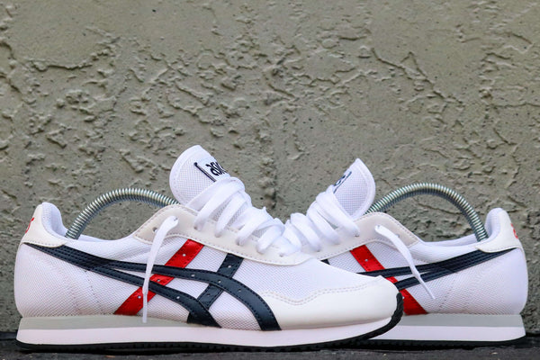 TIGER RUNNER WHITE/MIDNIGHT
