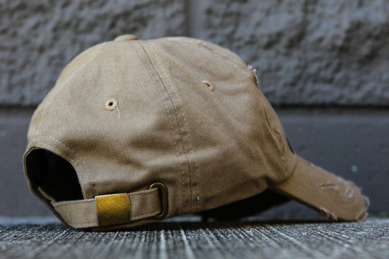 TEARS AND DOLLARS HAT DARK KHAKI