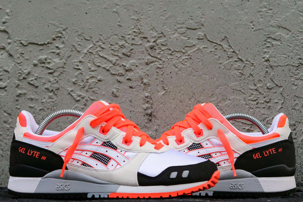 GEL-LYTE III OG WHITE/FLASH CORAL