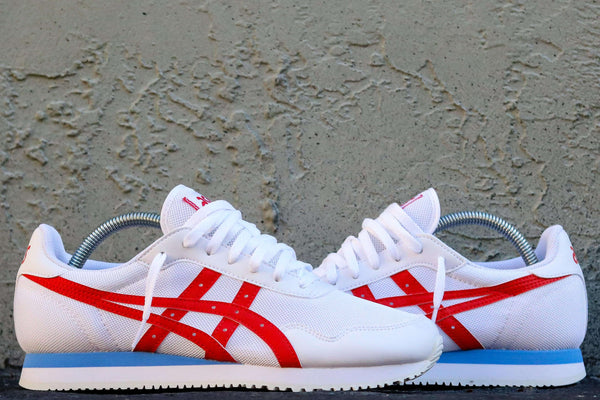 TIGER RUNNER WHITE/CLASSIC RED