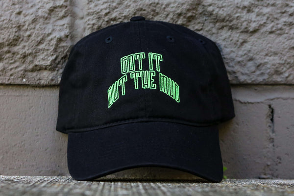 GOTM ARCH DAD HAT BLK