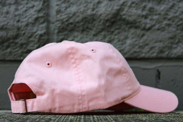 RACE TO THE TOP DAD HAT PINK