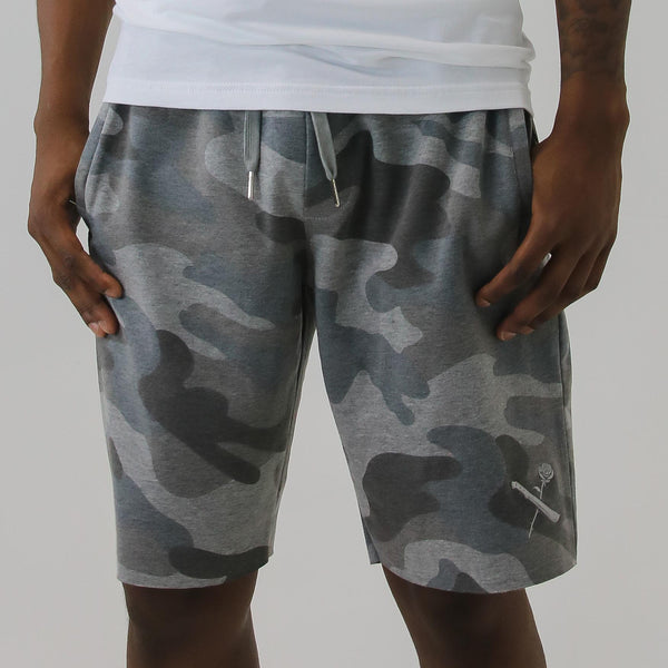 SRVL STEALTH GREY CAMO SHORTS
