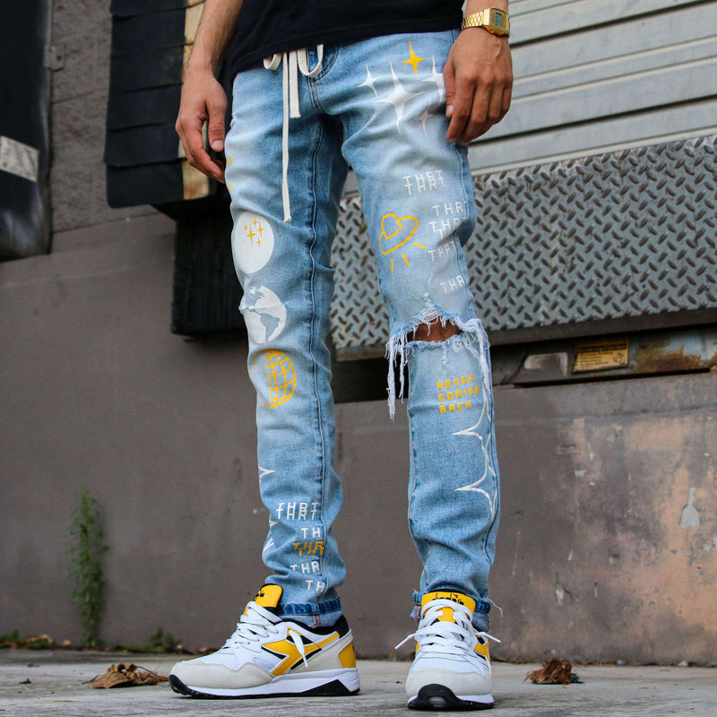 OUT OF THIS WORLD BLU DENIM