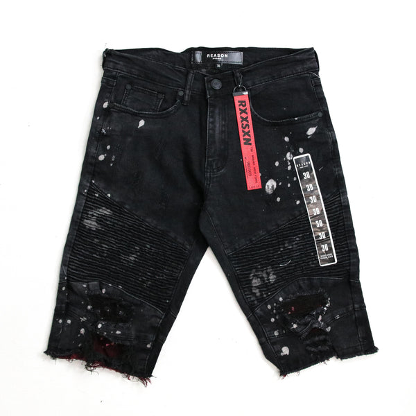 Duff Denim Shorts BLK