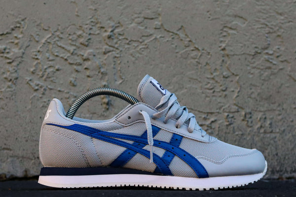 TIGER RUNNER PIEDMONT GREY/ASICS BLUE