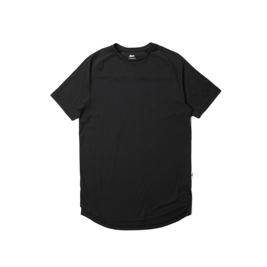 Index S/S Raglan Tee Black