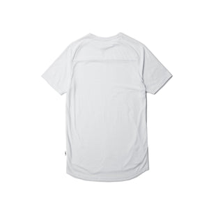 Index S/S Raglan Tee White