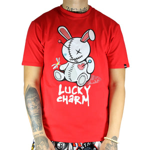 Lucky Charm Tee Red