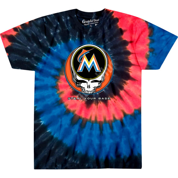 MIAMI MARLINS STEAL YOUR BASE TIE-DYE
