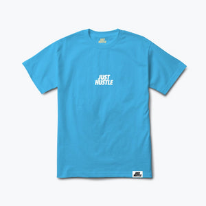 Minimal Statement Tee Blue