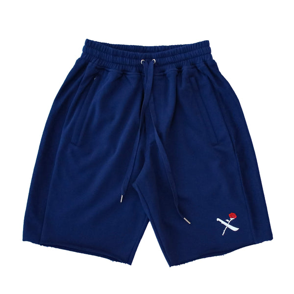 SOTF SHORTS NVY/RED LOGO