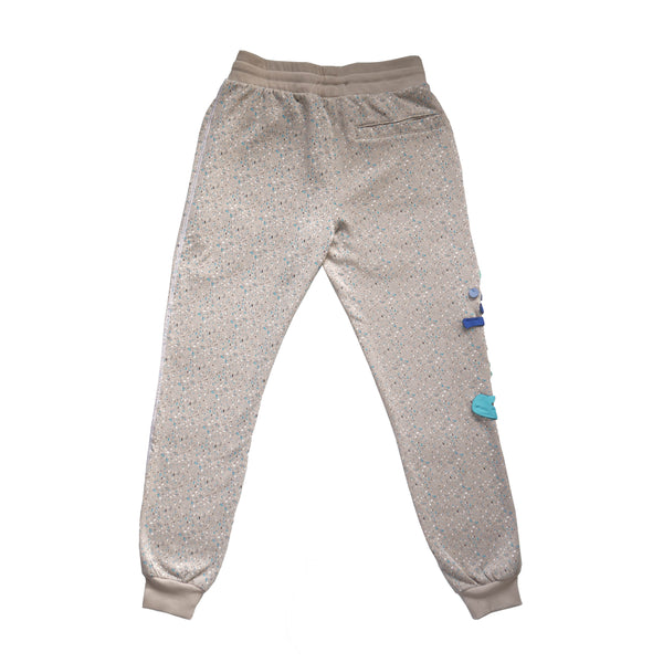 CHATEAU CUSTOM SPECKLED SWEATPANT GREY