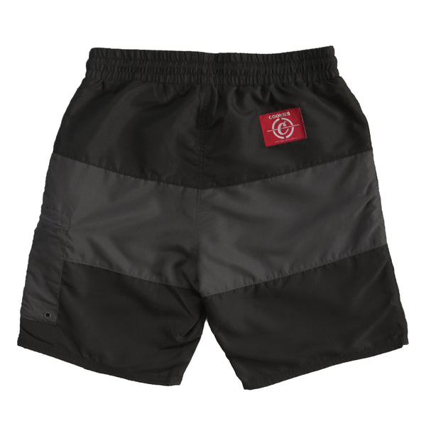 COLORES POLY BOARD SHORTS BLK
