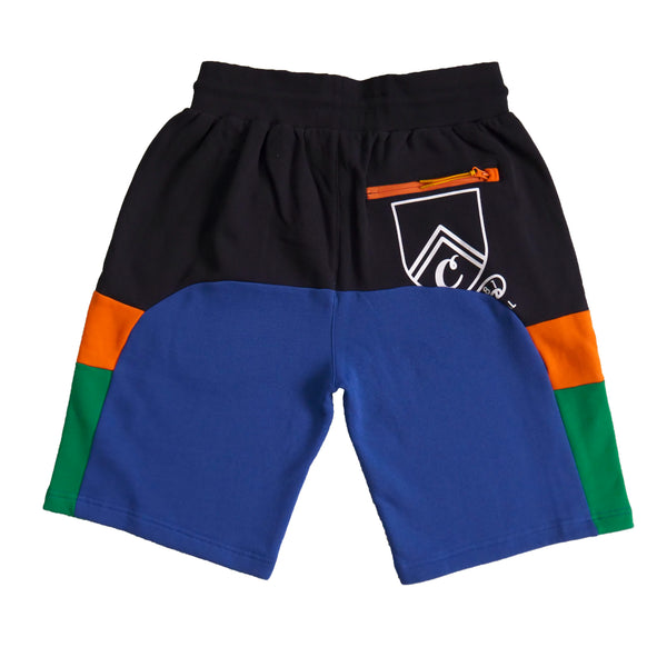 COLORES FLEECE SHORTS NVY/RYL
