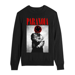 PARANOIA CREWNECK BLK/RED