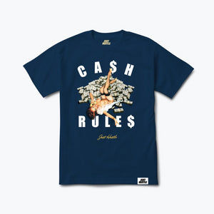 Pin Up Hustle Tee Navy